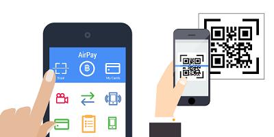 Dùng ứng dụng AirPay trên điện thoại để quét mã QRcode này để thanh toán!
