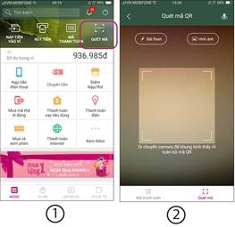Dùng ứng dụng Momo trên điện thoại để quét mã QRcode này để thanh toán!