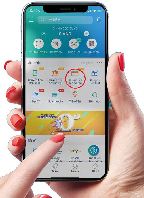 Dùng ứng dụng ViettelPay trên điện thoại để quét mã QRcode này để thanh toán!