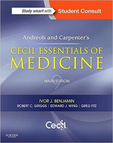 Andreoli and Carpenter's Cecil Essentials of Medicine, 9e