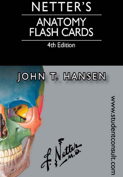 Online anatomy flash cards