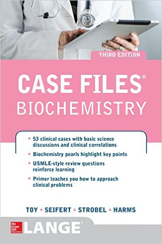 Case Files Biochemistry 3rd edition