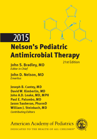 2015 Nelson's Pediatric Antimicrobial Therapy, 21e