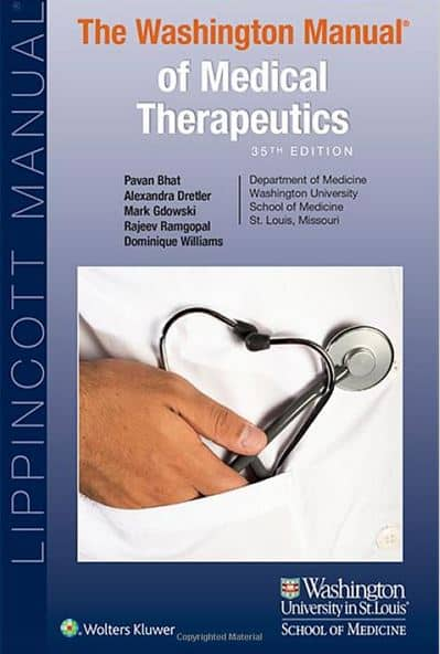 The Washington Manual of Medical Therapeutics 35e
