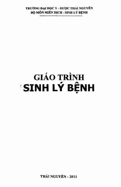 giao trinh sinh ly benh dh thai nguyen