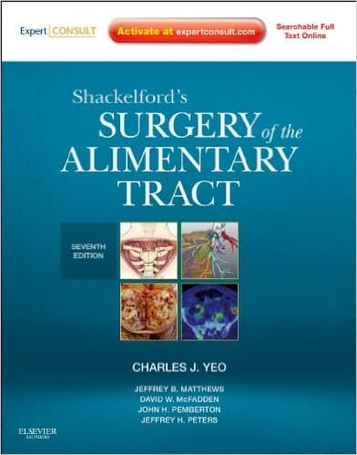 Shackelford's Surgery of the Alimentary Tract - 2 Volume Set 7e