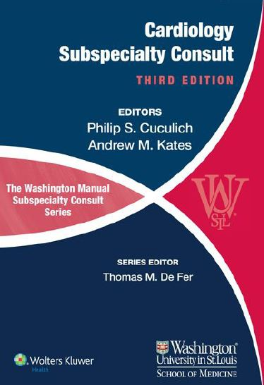 The Washington Manual of Cardiology Subspecialty Consult 3e