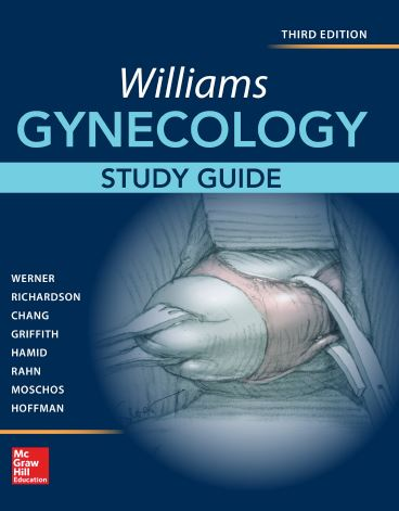 Williams Gynecology, Study Guide 3e