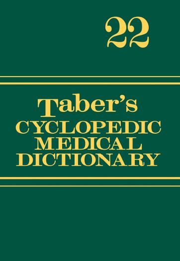 Taber's Cyclopedic Medical Dictionary, 22nd Edition