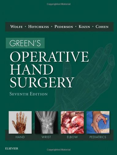 Green's Operative Hand Surgery, 2-Volume Set, 7e