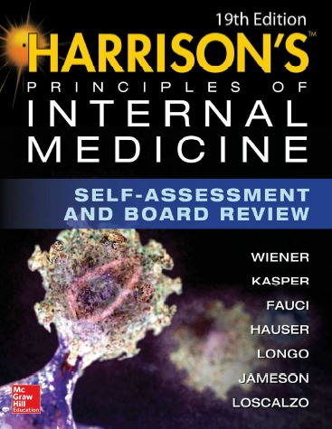 Harrison's Principles of Internal Medicine Self-Assessment and Board Review, 19e