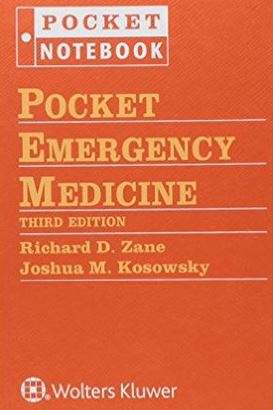 Pocket Emergency Medicine (Pocket Notebook Series) Third Edition