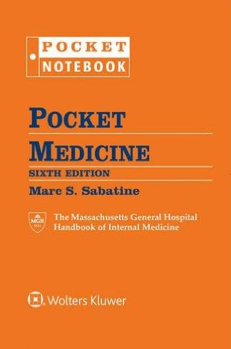 Pocket Medicine 6e The Massachusetts General Hospital Handbook of Internal Medicine (Pocket Notebook Series)