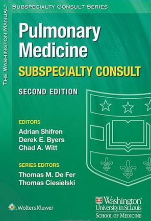 The Washington Manual Pulmonary Medicine Subspecialty Consult 2e