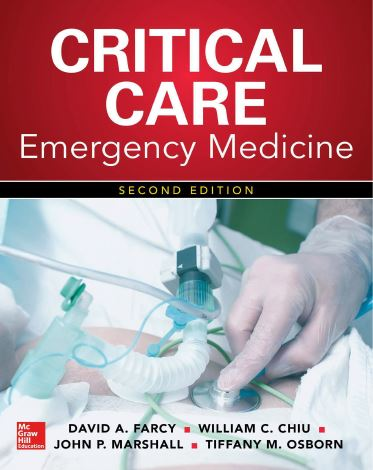 Critical Care Emergency Medicine, 2nd Edition