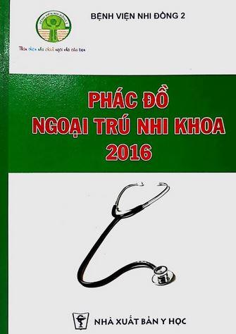 phac do ngoai tru nhi khoa 2016