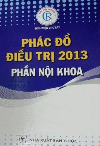 phac do dieu tri noi khoa bv cho ray
