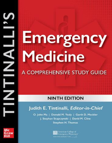 Tintinalli's Emergency Medicine A Comprehensive Study Guide 9e
