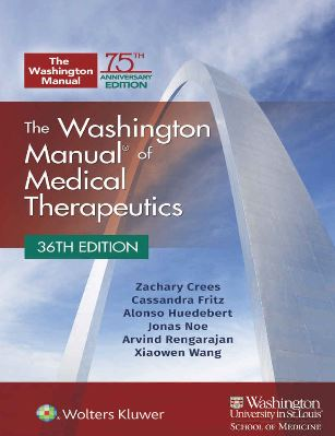The Washington Manual of Medical Therapeutics 36e