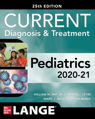 CURRENT Diagnosis and Treatment Pediatrics, 25th Edition